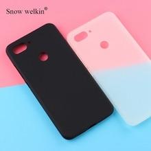 Gel TPU Slim Soft Anti Skiding Silicone Case Back Cover For Xiaomi Mi 8 Lite Mi8 Lite Mi8Lite 6.26 i