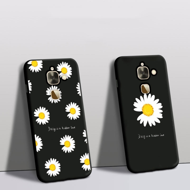 For Leeco le 2 Pro S3 X522 X527 Case Silicone Protector Daisy Flower Phone Cover For Letv le2pro X52