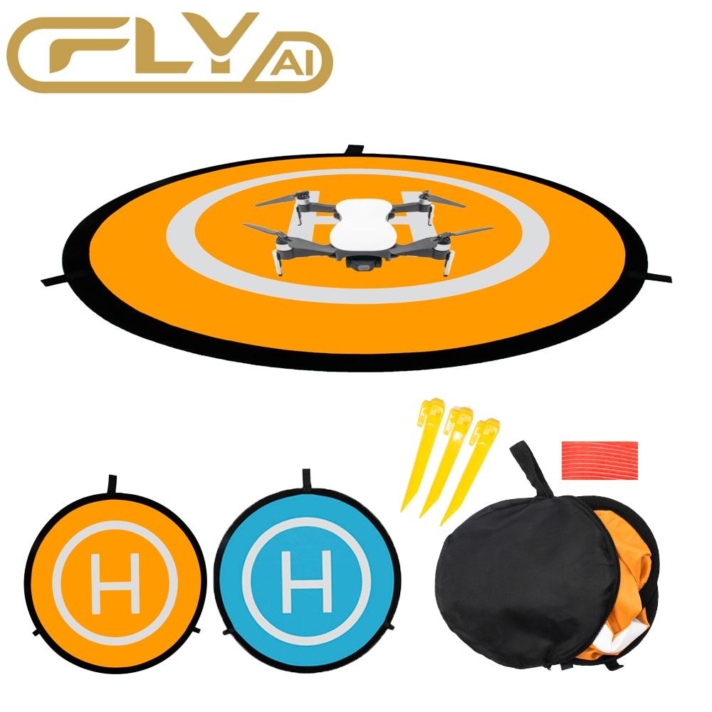 Foldable Landing Pad 55CM 75CM 110CM For DJI Mavic Pro Mini Air Spark Mavic 2 Phantom 3 4 Drone Lunch pad Universal Accessories недорого