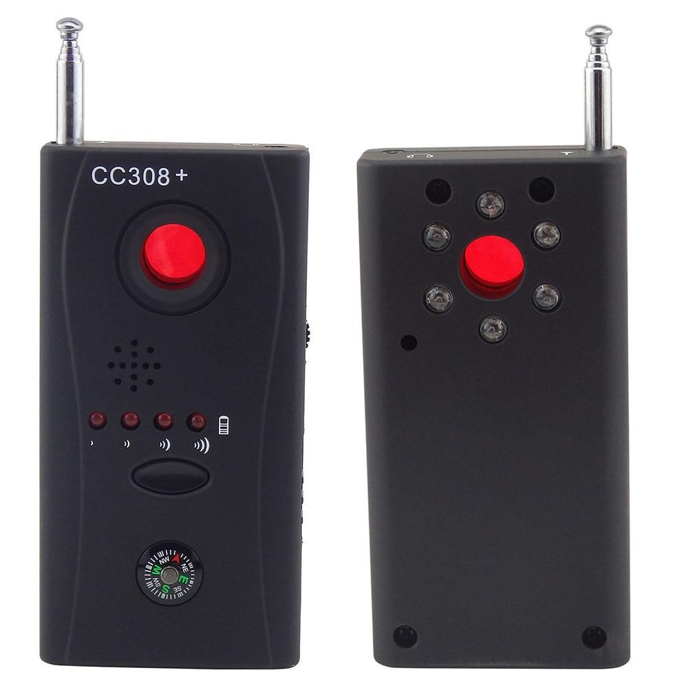 Full Range Anti - Spy Gadgets Bug Detector Mini Wireless Camera Hidden Signal GSM Device Finder Priv