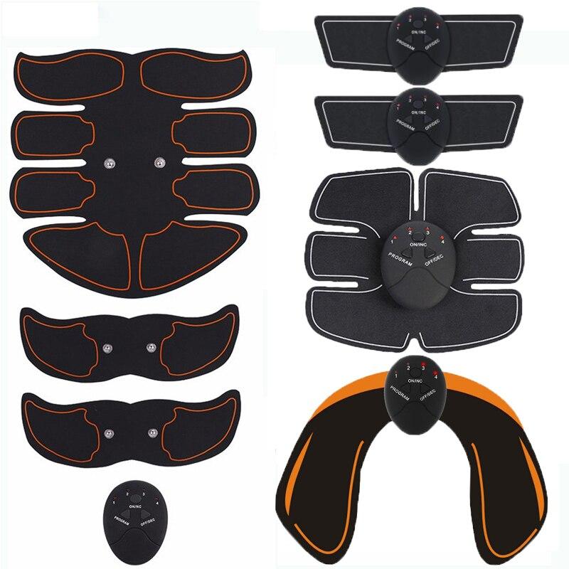 Estimulador muscular elétrico ems sem fio nádegas hip trainer abdominal abs estimulador de fitness corpo emagrecimento massageador