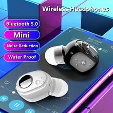 MEUYAG L016 NEW Mini Wireless Bluetooth 5.0 Earphone in Ear Sport Headset Earbuds with Mic For smart