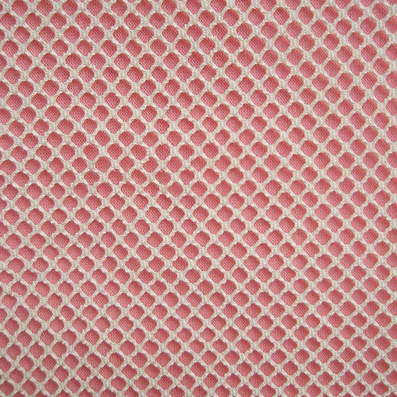 Fashion White Stretch Mesh Fabric Brit Style Spandex Polyester Plaid Black Hollow Net Fabric Sewing Cloth Tissu tecidos Hot Sale