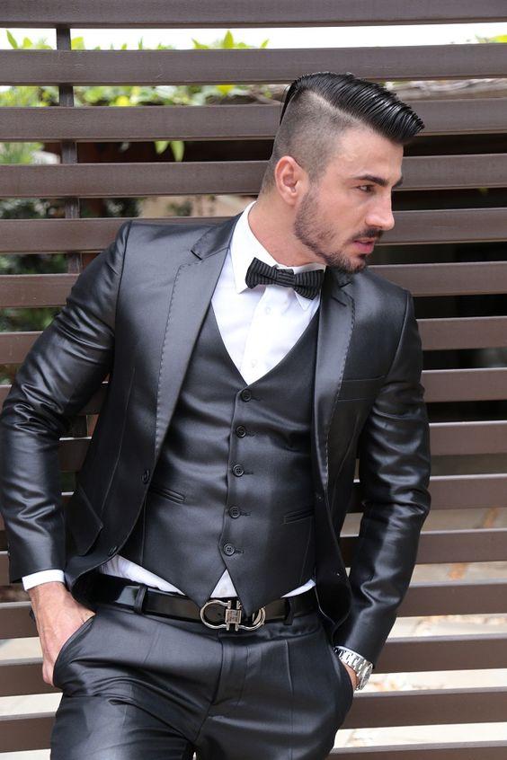 البدلات الرسمية للرجال بدلة الزفاف للرجال مناسبة ضيقة حسب الطلب بدلة العريس للحفلات الراقصة مصممة حسب الطلب أفضل رجل 3 قطع