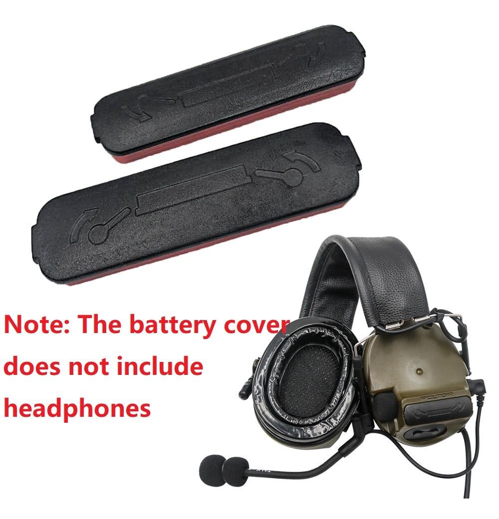 Подходит для пикапа шумоподавления COMTAC III тактическая крышка для аккумулятора гарнитуры, аксессуары для тактической гарнитуры airsoft C3