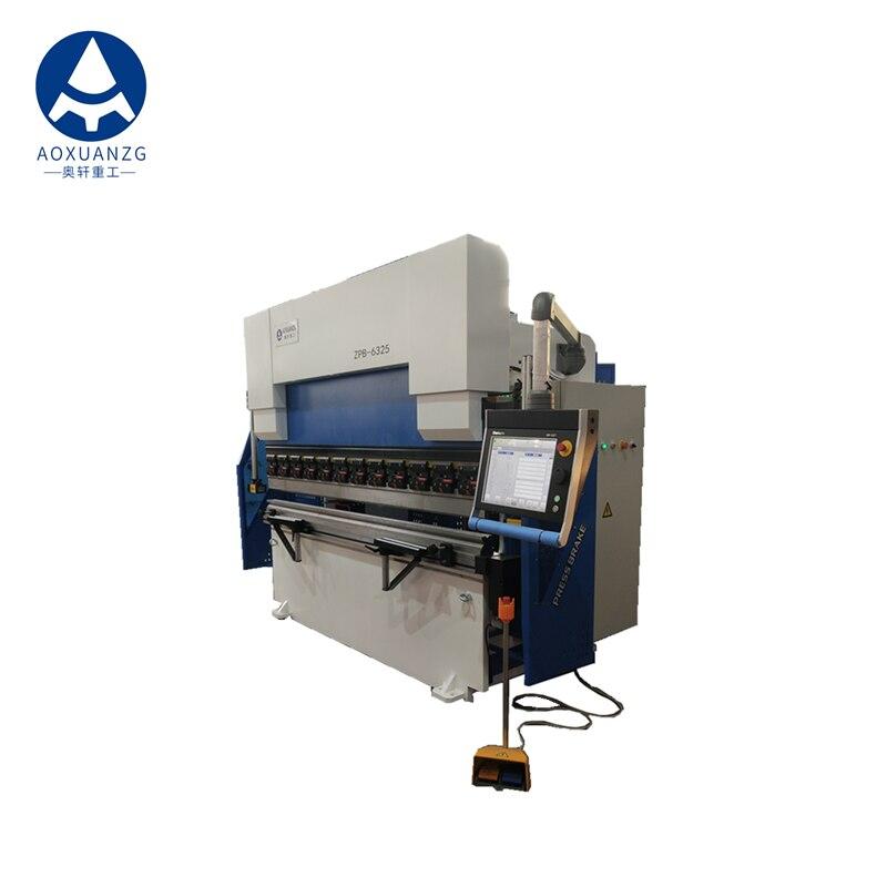 63 toneladas 2500 8 + 1 ejes DELEM DA66T Siemens Motor Schneider prensa hidráulica eléctrica Freno de alta calidad