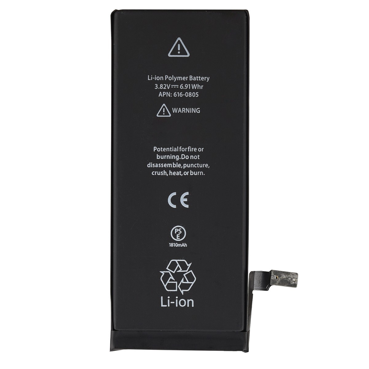 Batería de repuesto GOLDFOX de 1810mAh para iPhone 6, batería recargable de Li-ion para teléfono móvil