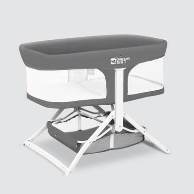 Baby crib removable portable baby bed folding comfort modern minimalist newborn cradle bed ultra light enlarge