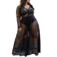 ladies black evening dresses v neck see through robes for photo shoot baby shower ruffle women photography robe floor length
