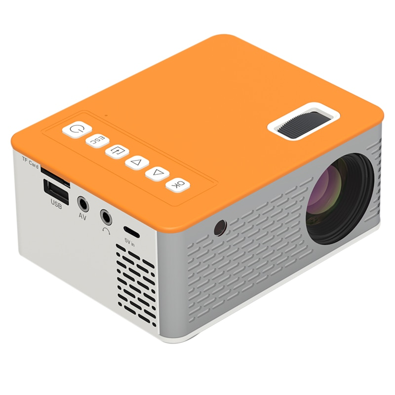 NEW HD Mini Portable Video Projector Home Theater Cinema Support Mobile Phone Video Player Movie Gam