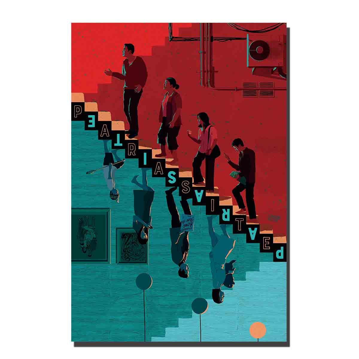 C513, pósteres de película para parásitos e impresiones artísticos, cuadros de pared para sala de estar 12x18 27x40 8x12, pintura en lienzo