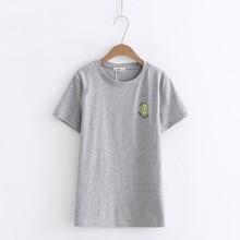 2018 Summer T-shirt Women Casual Lady Top Tees Tshirt Female Clothing Printed