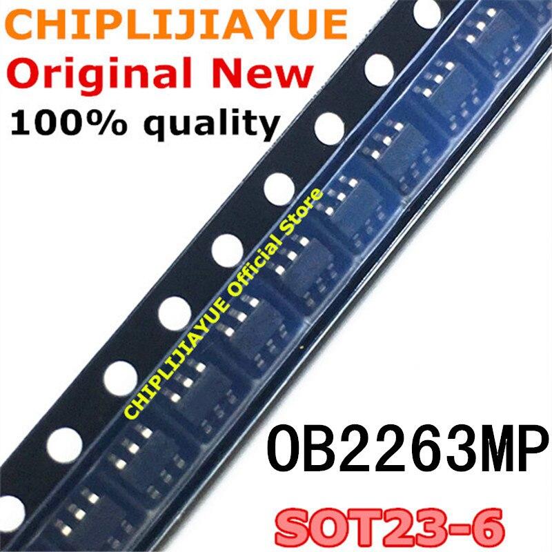 20PCS OB2263MP SOT23-6 OB2263 OB2263AMP SOT-23-6 SOT SMD new and original IC Chipset
