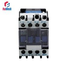 Contacteur de tension à bobine 24V 36V 48V 110V 220V 380V V   Contacteur de courant alternatif NC Normal fermé 12A