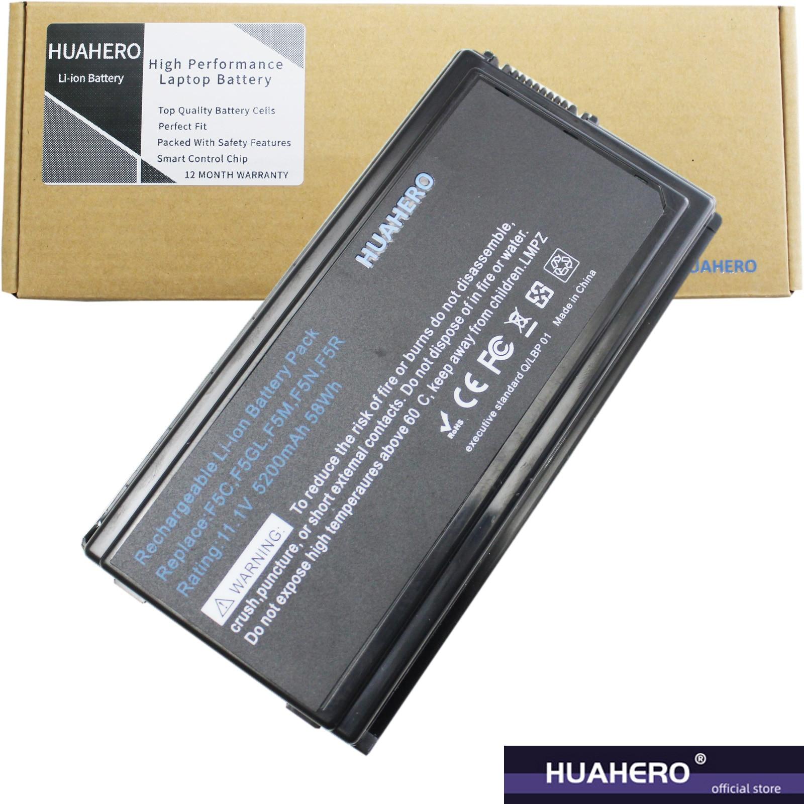 HUAHERO A32 - F5 batería para ASUS F5GL F5M F5N F5R F5RI...