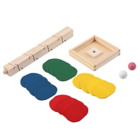 Unique Wooden Tree Leaves Blocks Marble Ball Run Track Game Toy for Baby Kids Children Intelligence Educational Toy HOT SALE