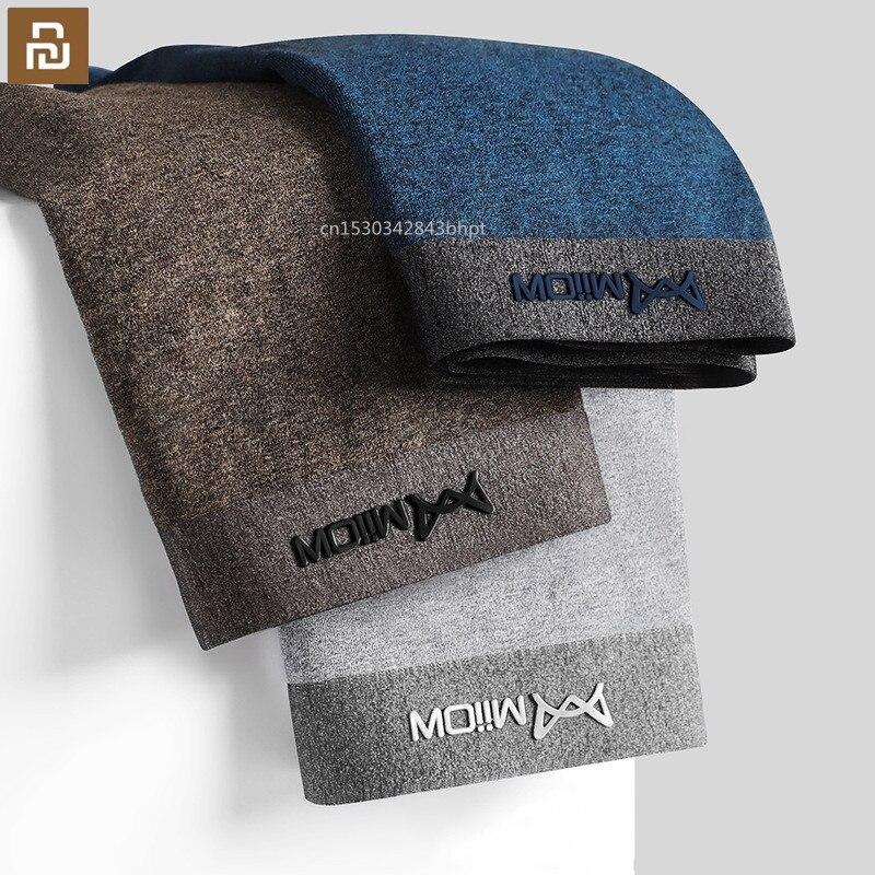 3pcs Youpin Miiow Men Boxer Shorts Graphene Antibacterial Man Underwear Cotton Boxer Male Solid Colo