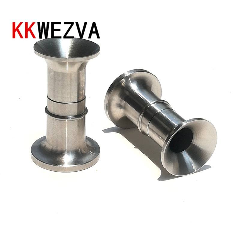 AliExpress - KKWEZVA 1pc Fishing Hair Stacker Stainless Steel Detachable Fly Tying Accessory Pesca Trout fly bait makingTackle Fishing Tools