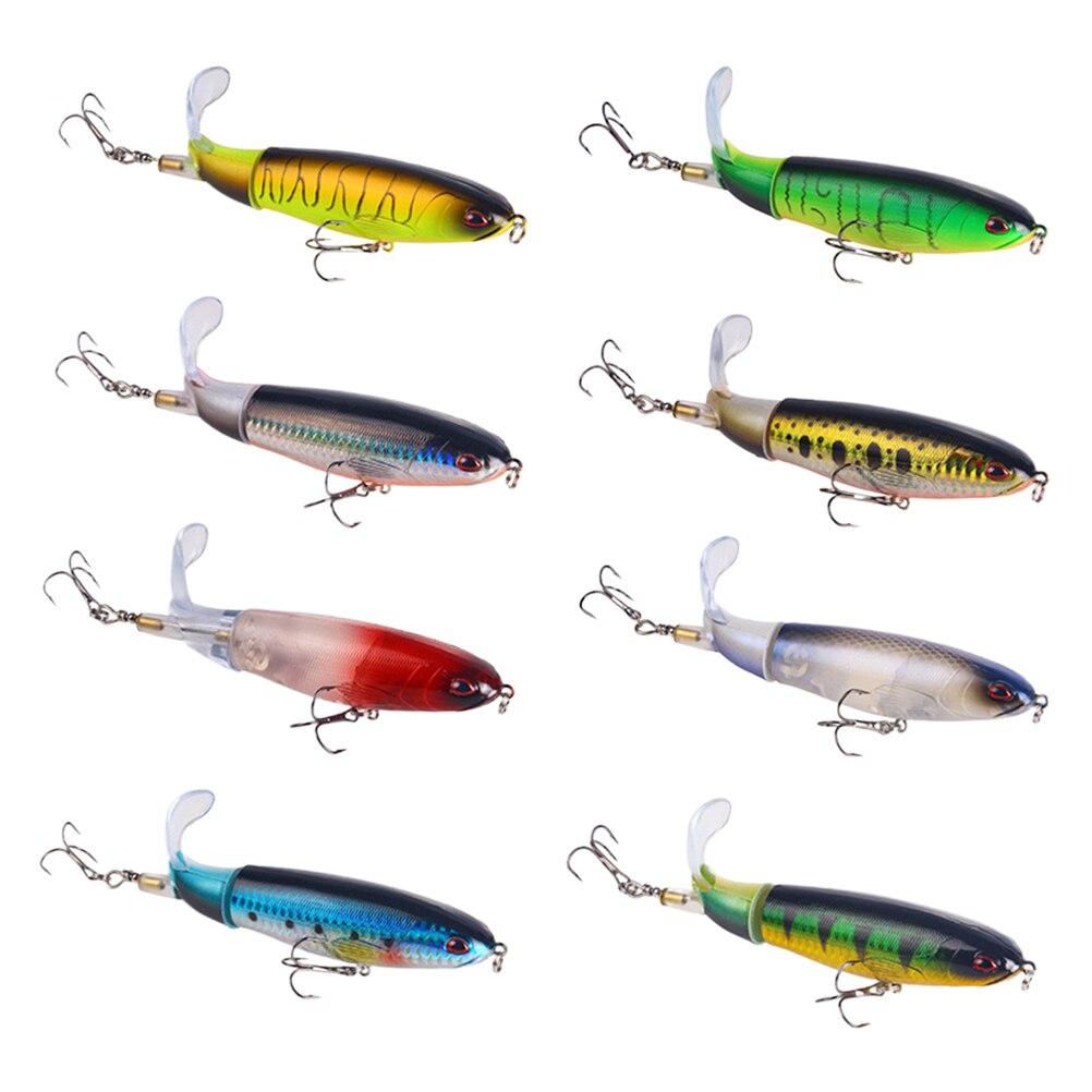 8 шт., 15 г, пропеллер, трактор, жесткая приманка, плавающий карандаш, приманка для рыбалки, симуляция, приманки для рыбалки на открытом воздухе...