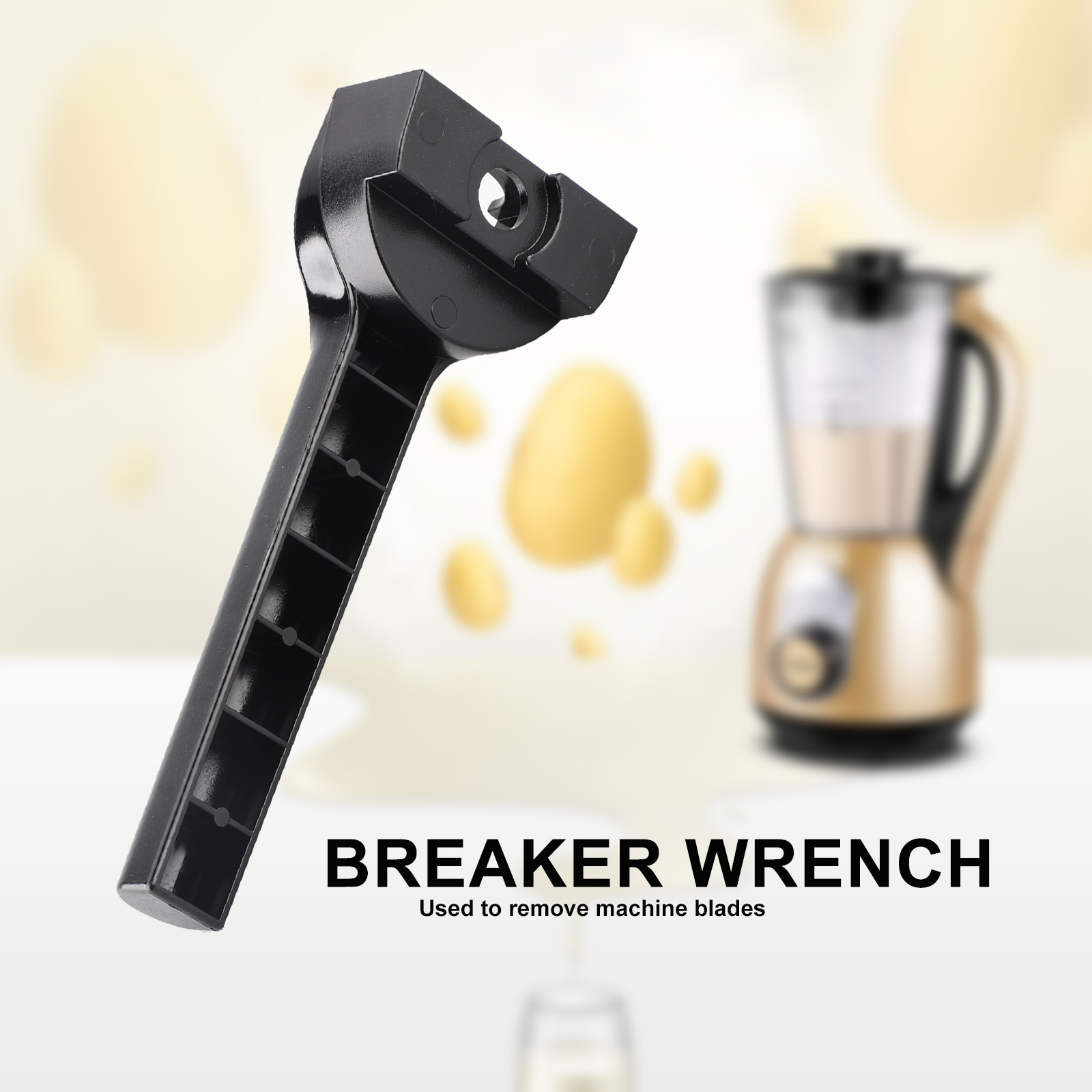 Spanner Wrench for Vitamix Blender Replacement Parts Blender Replacement Household Replaces Removal Tool Wet Blade Assembly professional blender spare parts opener wrench tool key for open blades retainer