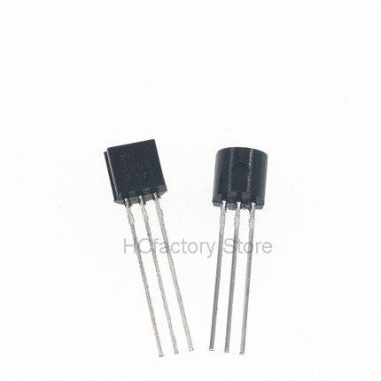 Новый оригинальный Триод 100 шт./лот 2N3906 3906 TO-92 0.2A 40V PNP оптом электронный оптом единый дистрибьютор
