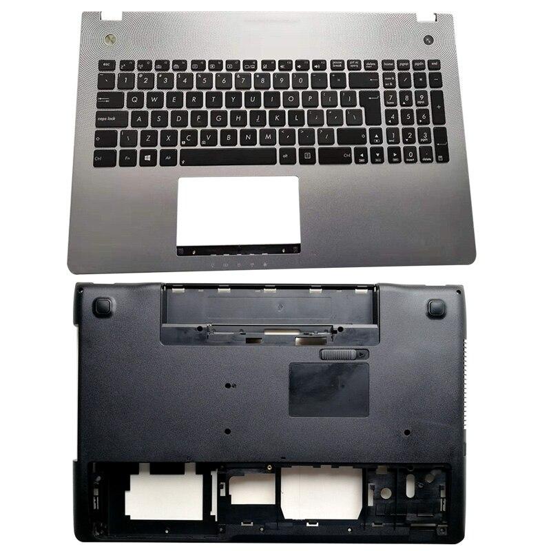 Para ASUS N56 N56V N56VM N56VZ N56SL N56DP N56DY N56JK N56JN N56JR N56VB N56VJ N56VV portátil Palmrest Teclado retroiluminado/cubierta inferior