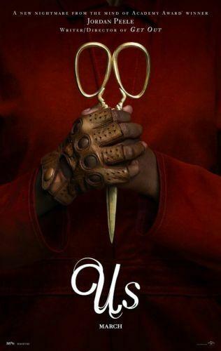 Película de Horror Jordan Peele Lupita Nyong de los Estados Unidos W036,...