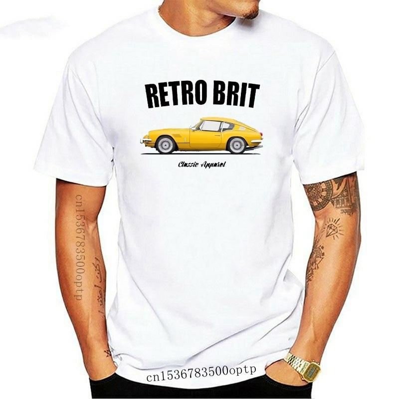 New Hot Fashion Men T Shirt British Classic Car Fans Gt6 T-Shirt. Retro Brit. Classic Car. British Leyland. Modified.Order T Shi