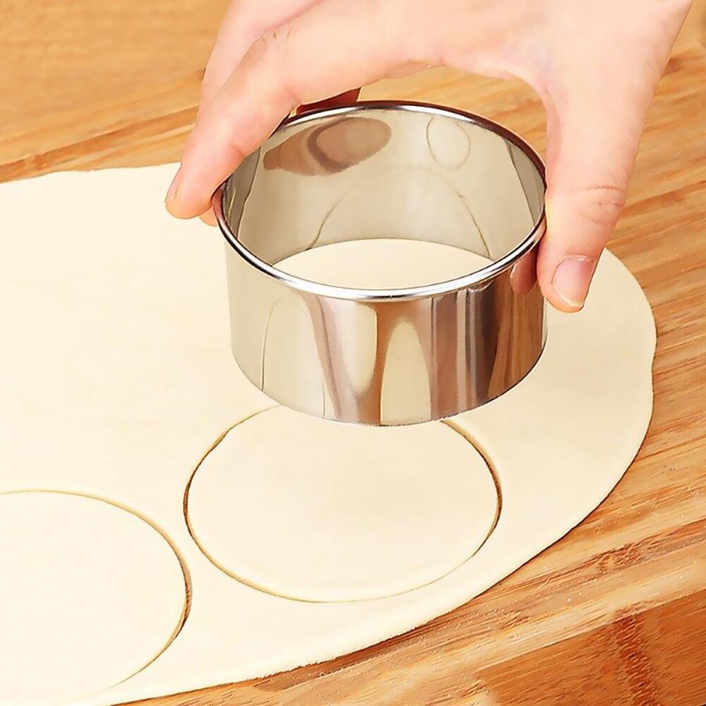 3 шт. клецки плесень из нержавеющей стали клецки машина обертка для теста резак форма для пельменей гёдза кухонные аксессуары Кондитерские инструменты