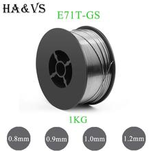 1KG/5KG MIG E71T-GS Gasless Flux Cored Welding Wire 0.8 0.9 1.0 1.2mm AWS A5.20/ASME SF A5.20 For MIG Welder Tool