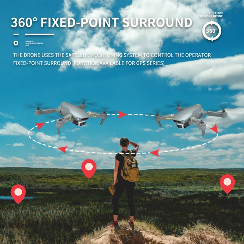 NYR GD89 Max With Aerial Photography 8K Hd Pixel Camera Remote Control 4-axis Quadcopter Aircraft Long Life Flying Toys enlarge