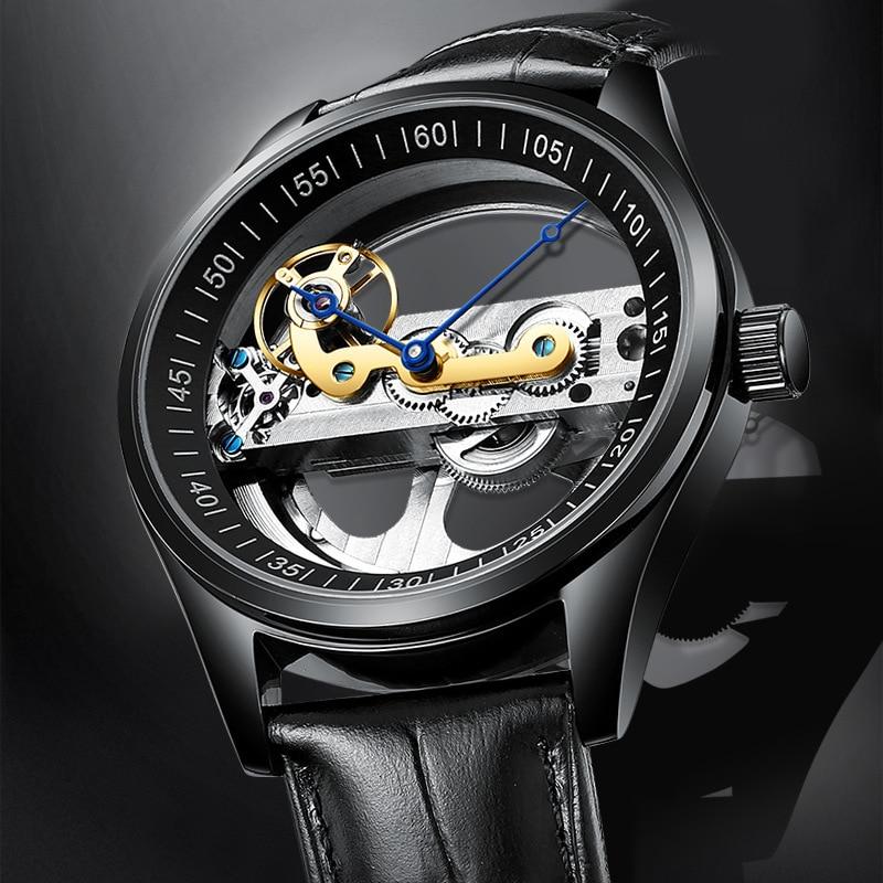 Binkada DESIGN 2020 LuxuryMechanical Wristwatch Stainless Steel GMT Top Brand Sapphire Glass Men Wat