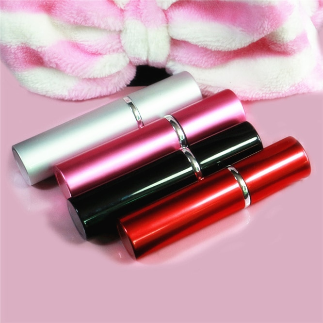 100pcs/lot Metal Empty Spray Bottle For Make Up And Skin Care Refillable Colorful Travel use Perfume Bottle Female cosmetics enlarge