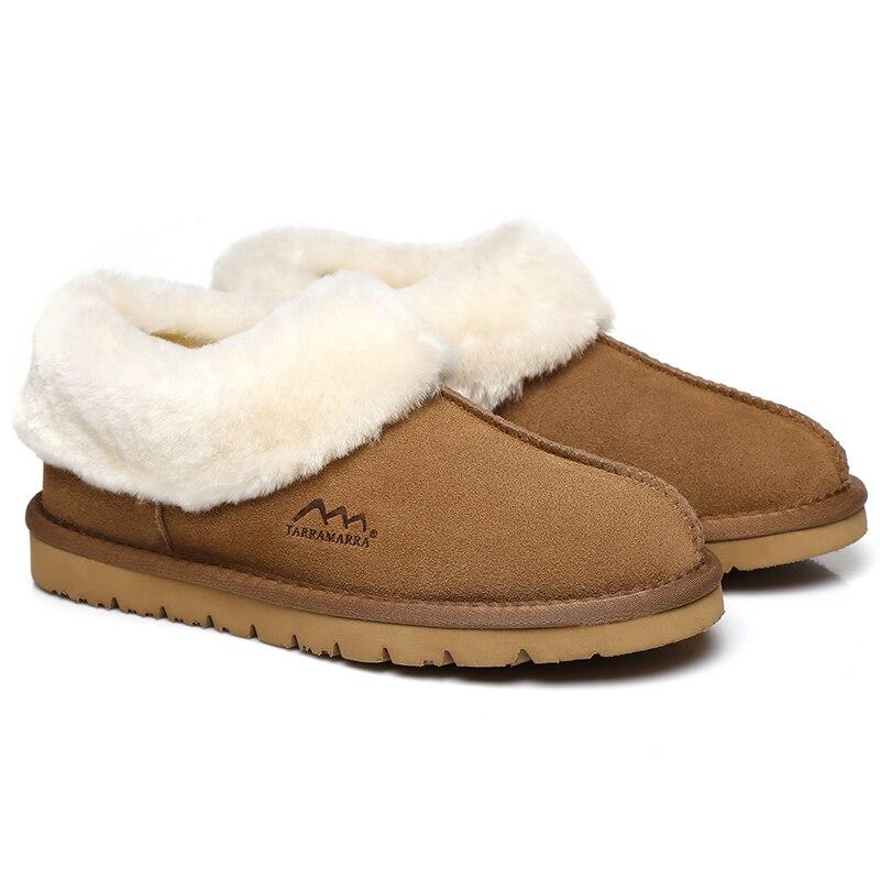 TA Homely شبشب شتوي 100% حقيقي جلد الغنم الثلوج النعال النساء أعلى جودة أستراليا النعال النعال الدافئة للنساء