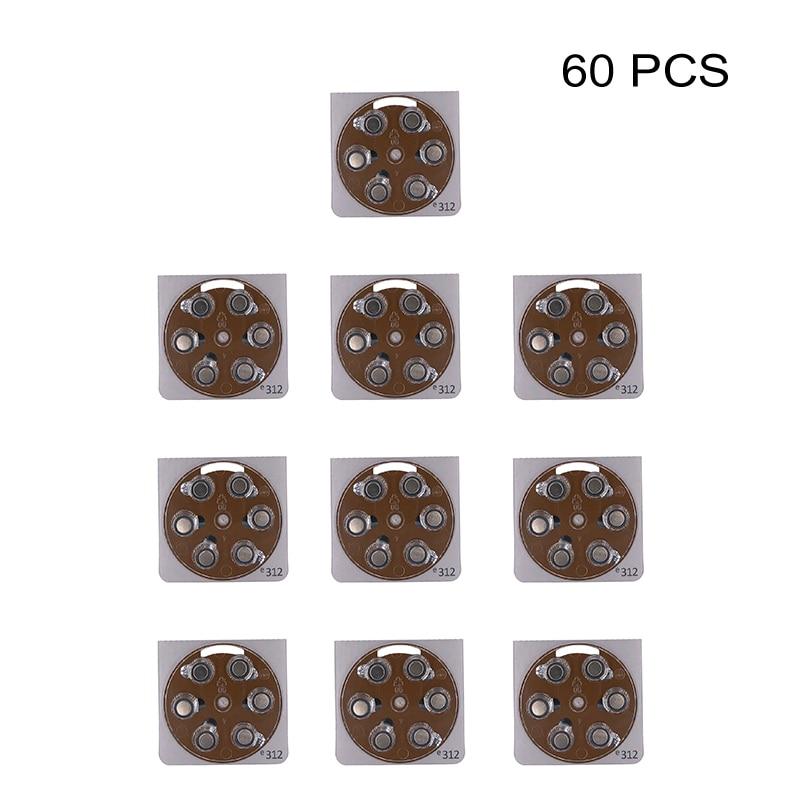 Zinc-Air Button Cell Power Batteries PR41 1.4V Hearing Aid Battery e312 Replaces A312 312A ZA312 312 S312 P312 DA312