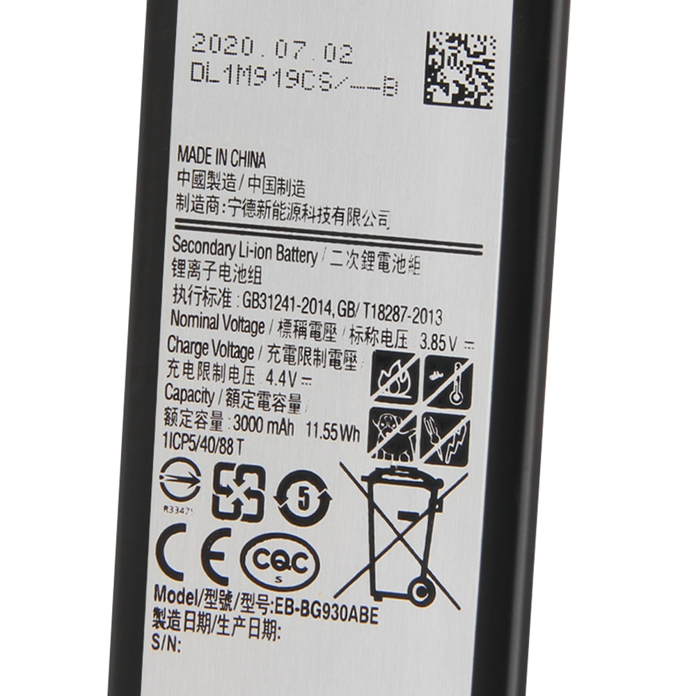 Original Replacement Samsung Battery For Galaxy S7 SM-G9300 G9300 G930F G930A G9308 EB-BG930ABA EB-BG930ABE 3000mAh enlarge