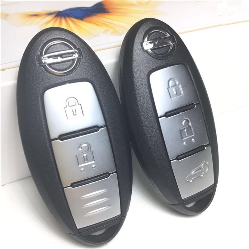 Автомобильный ключ без ключа умный дистанционный ключ 433 МГц с PCF7953M/HITAG AES/4A чип для Nissan Juke Qashqai X-Trail J10 J11