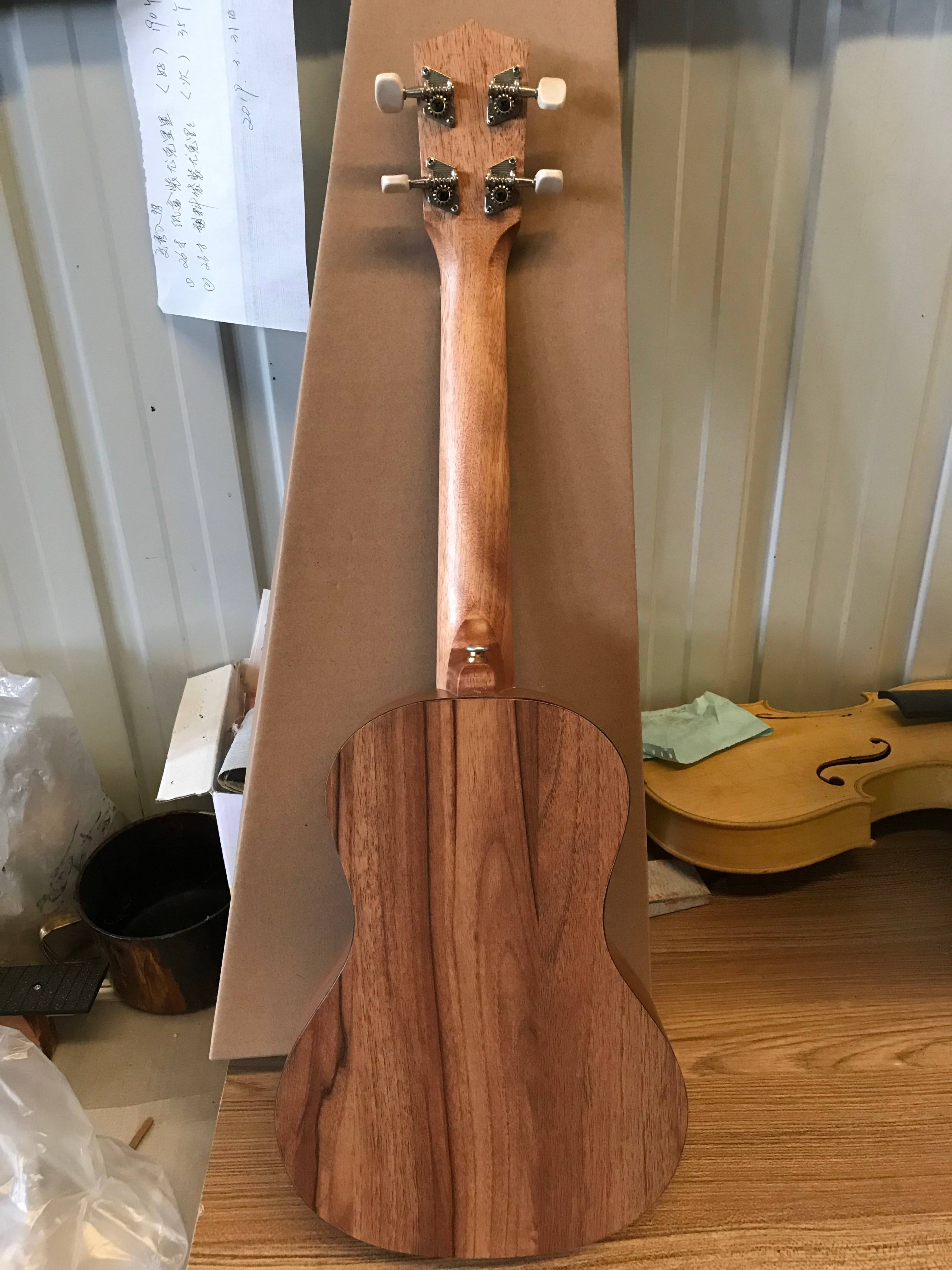 23 Inch All Ukulele Zebrawood Ukeleles Small Guitar Unisex Universal Little Guitar Toy Guitar for Beginners Toddlers Kids enlarge