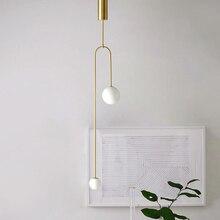 Moderne déco chambre lustre pendente verre salon décoration de la maison E27 luminaire lampe à main lustre pendente