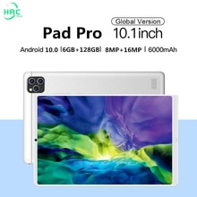 Pad Pro Tablet 10 .1 inch 6GB RAM 128GB ROM tablet Android 10.0  tablete 4G LTE phonecall tablets 60