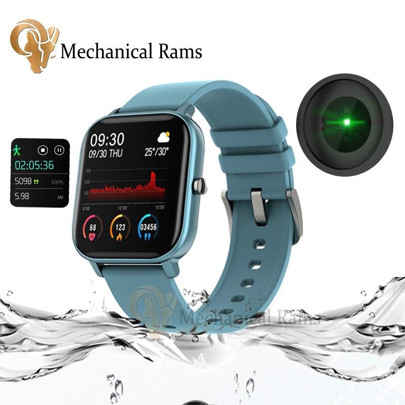 P8 English Version Smart Watch IPX7 Waterproof Smart Clock Sport Modes Call Reminder Bluetooth 5.0 Smart Band PK Haylou LS02