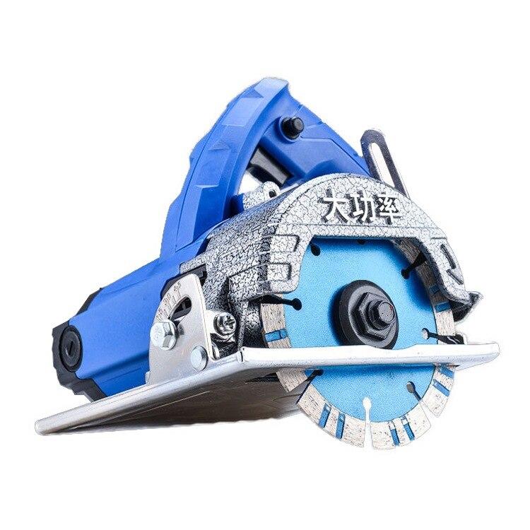 Máquina de dolomita, máquina de corte de piedra y azulejos de cerámica, pequeña herramienta eléctrica portátil para carpintería de alta potencia para el hogar