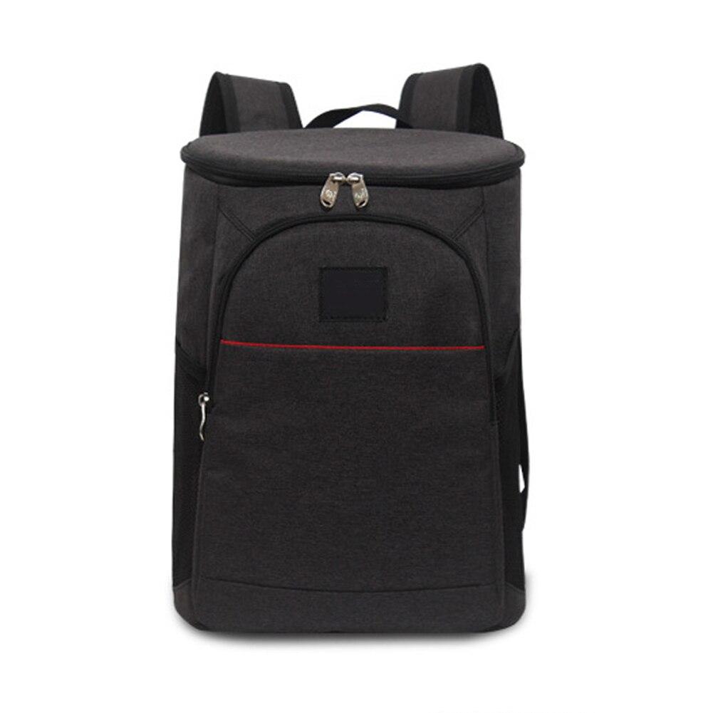Paquete de hielo de 18L, mochila de tela Oxford de gran capacidad, bolsa de mano Unisex, bolsa de viaje aislante, enfriador de vino, Picnic, bolsa de almuerzo, almacenamiento de alimentos
