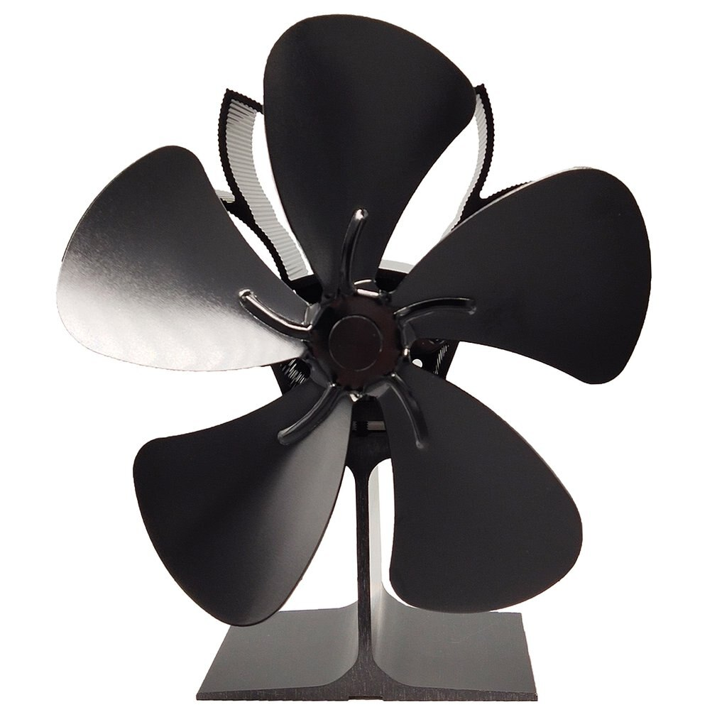 Stove Fan For Fireplace Wood Log Burner Powered Eco Fan Fireplace Fan Thermal Power Fan Heat Powered Stove Fan