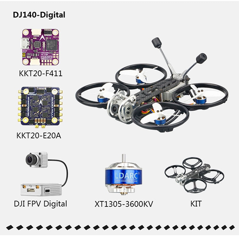 ldarc-4s-pnp-dj140-cinewhoop-28-pollici-fpv-drone-xt1305-motore-brushless-4k-hd-video-camera-record-di-configurare-per-dji-quadcopter