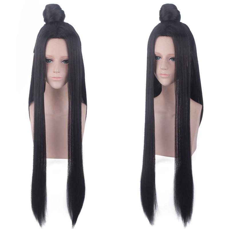 Купить с кэшбэком Cosplay Chinese Anime  Grandmaster of  Demonic Cultivation  Wen Ning/Lan Zhan /Xue Yang  Wig  Mo Dao Zu Shi  3  Characters Wig