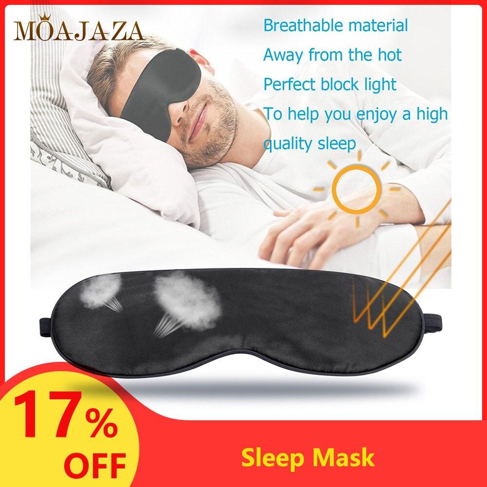 1 pièces Masque de Sommeil En Soie Dormant Couverture de Soins de Santé Bien-Être Patchs Oculaires Nuit Aide Au Sommeil Masque Pour Hommes Femmes