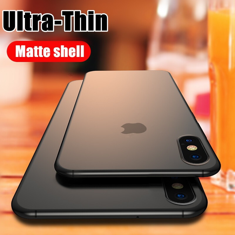 Ultra Thin 0.2mm Matte Case For iphone 12 Mini X XR XS 11 Pro Max Full Cover For iphone SE 7 6 6s 8