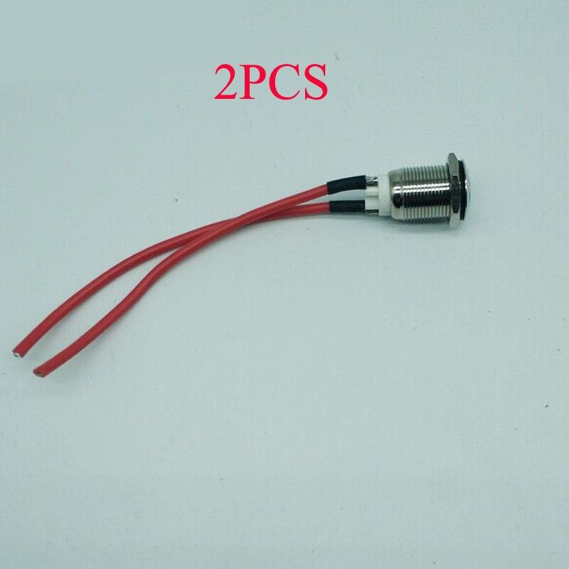 2 uds RC Boat Parts interruptor a prueba de agua en miniatura 10A interruptores de alimentación Piezas de Repuesto DIY para el modelo de barco de juguete