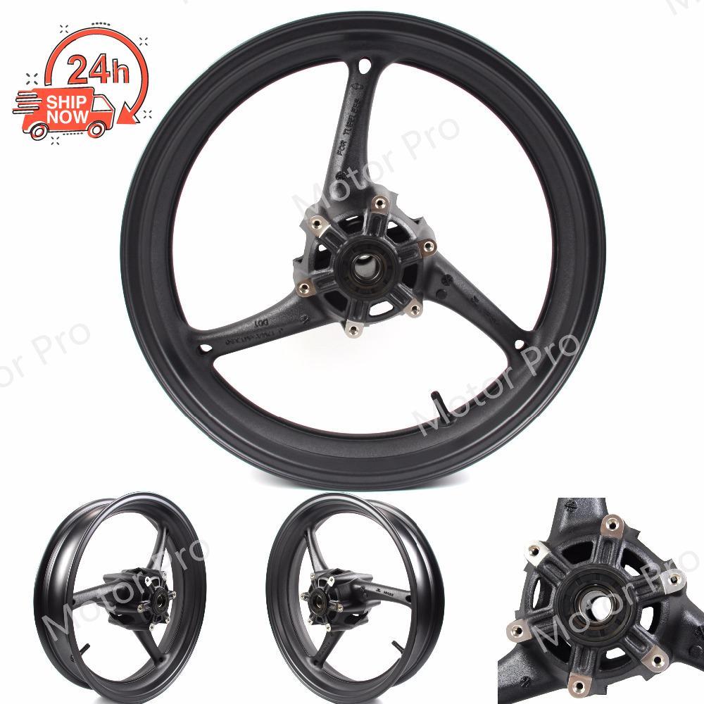 Front Wheel Rim For Suzuki GSXR 600 2011 - 2016 2012 2013 2014 2015 GSXR600 Motorcycle Parts GSX R GSX-R 750 11 12 13 14 15 16